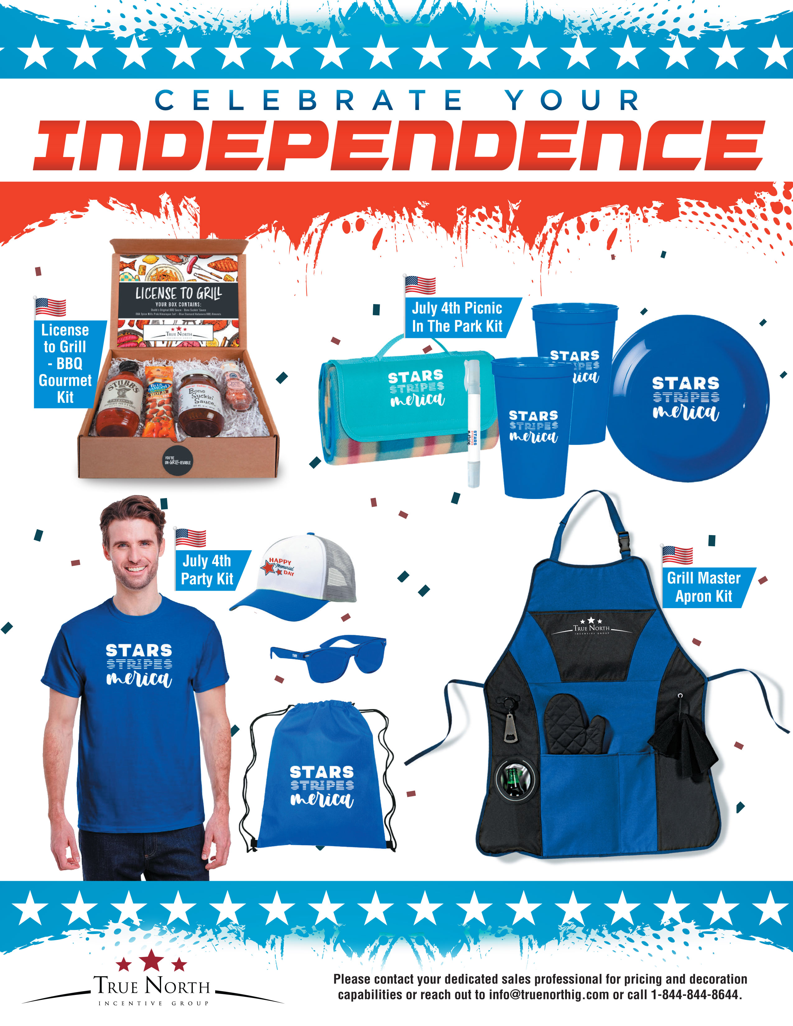 4 of july promo products flyer