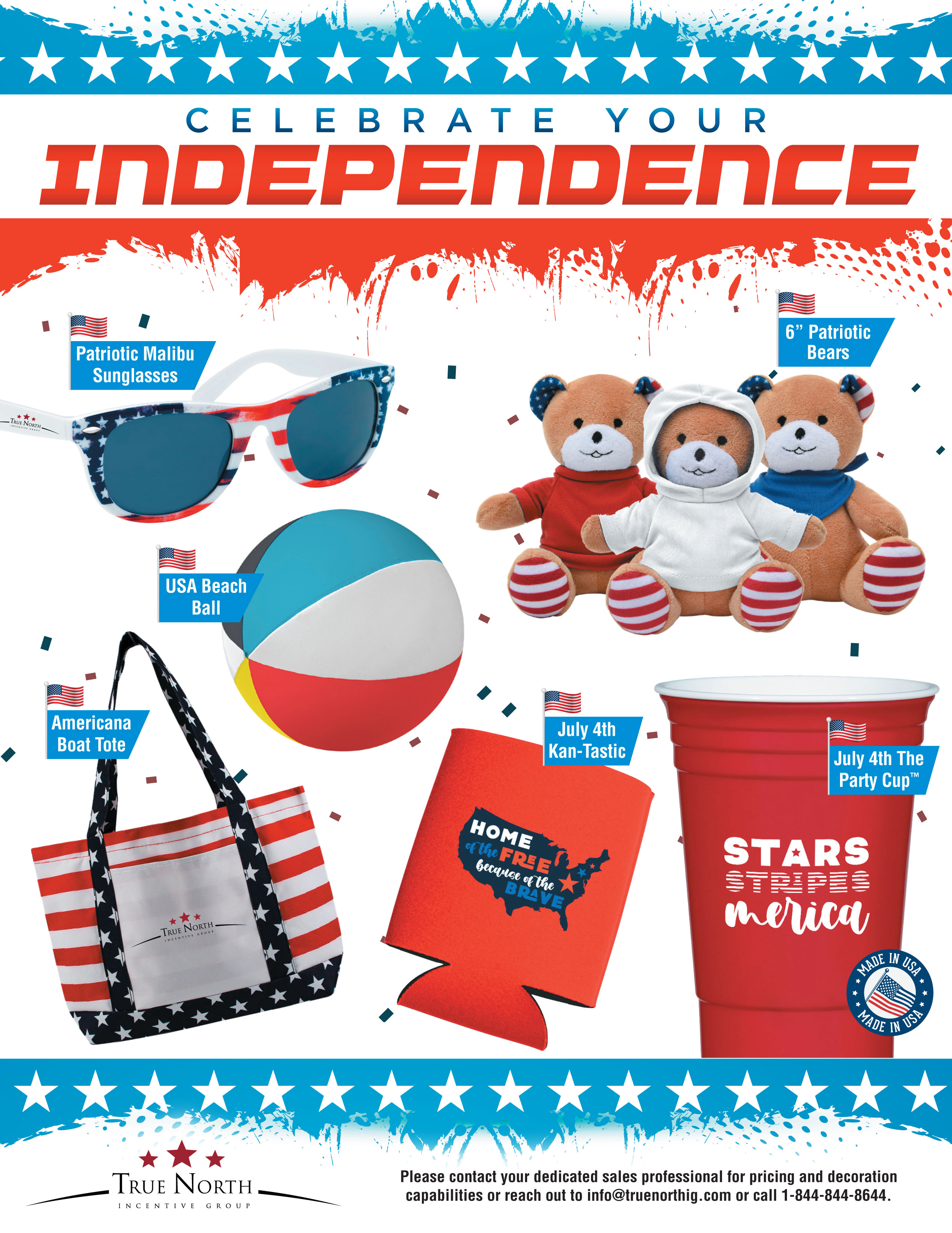 4th of July Promo Flyer