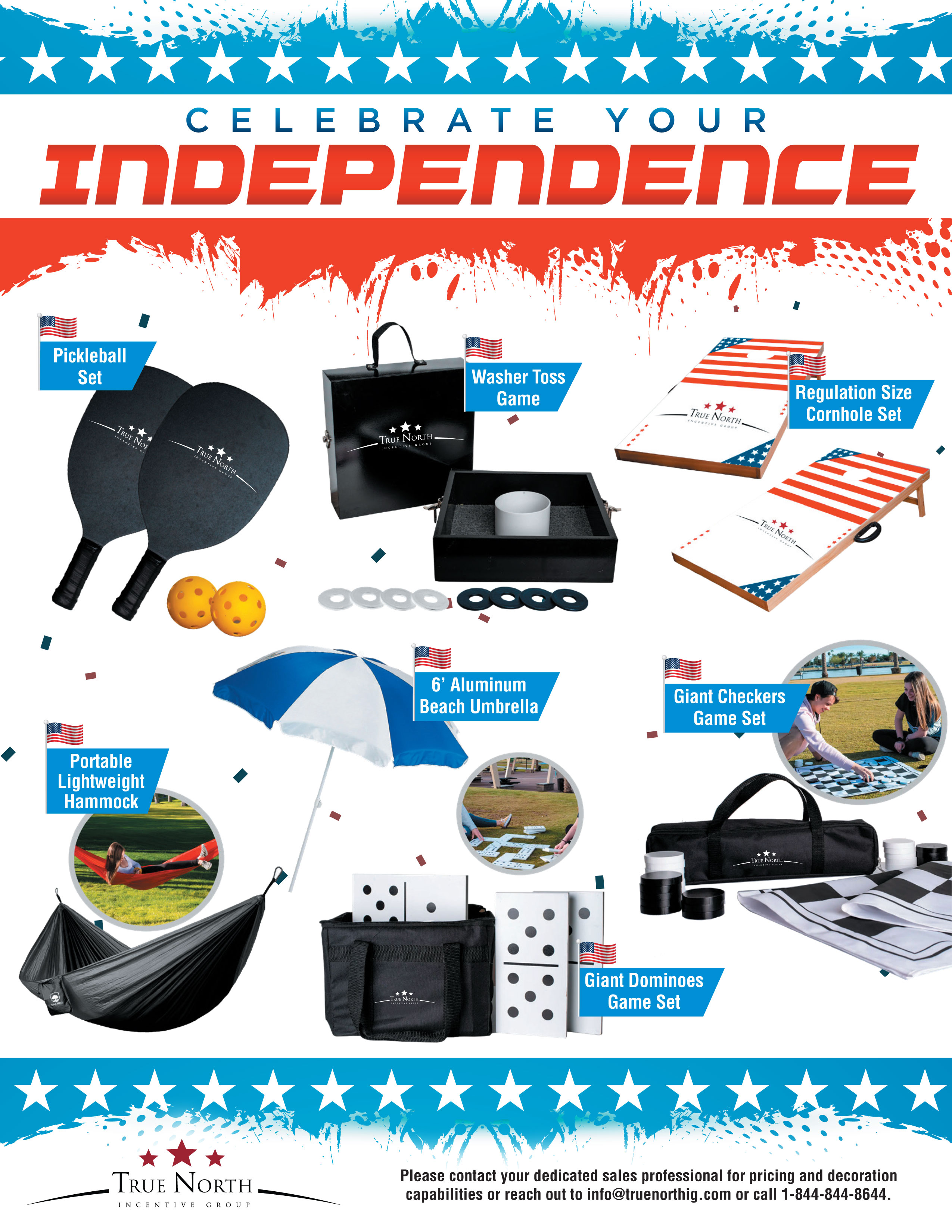 4th of July Promo Product Flyer