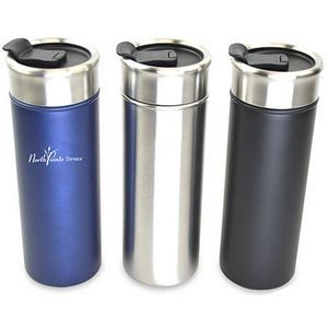 16 Oz. Double Wall Stainless Steel Vacuum Insulated Tumbler
